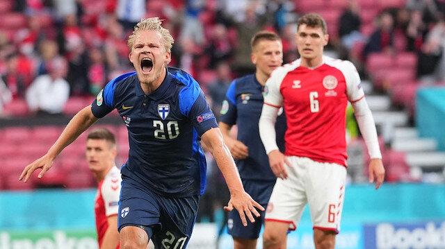 Korku dolu maçı <br>Finlandiya kazandı