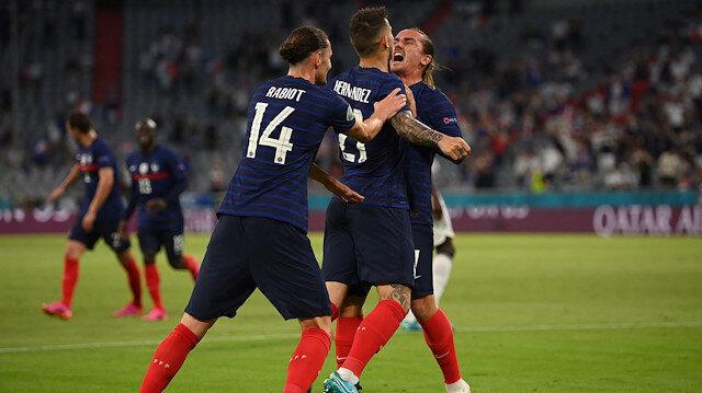 Erken finalde <br>kazanan Fransa oldu
