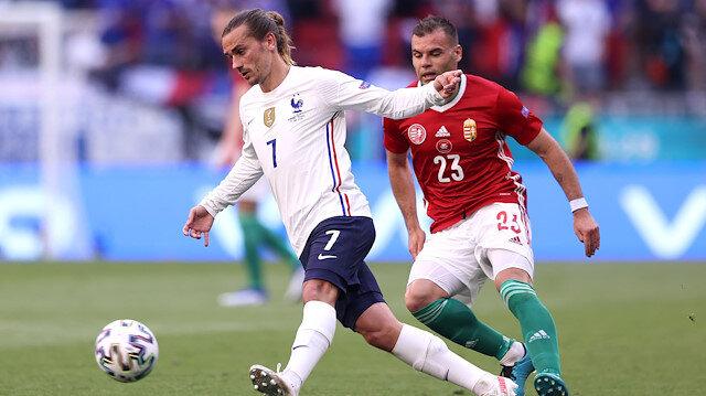 Macaristan-Fransa maçında kazanan çıkmadı