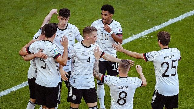 Gol düellosunda kazanan Almanya