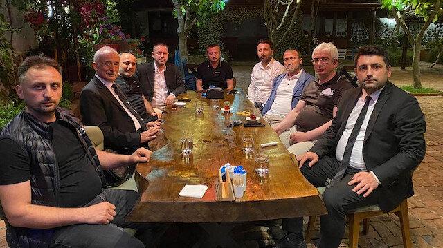 Trabzonspor ve Çaykur Rizespor arasında dostluk rüzgarı