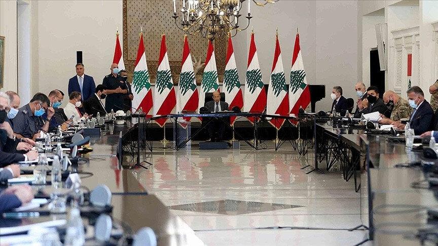 Cumhurbaşkanı Avn, bugün başkent Beyrut'ta ülkedeki durumu değerlendirmek için Yüksek Savunma Konseyi ile bir toplantı yaptı.
