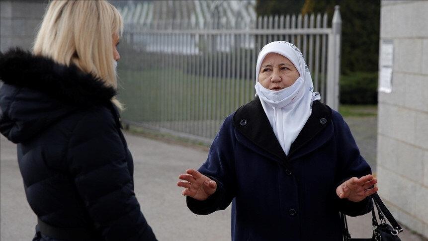 Srebrenitsa Anneleri Derneği Başkanı Fazila Efendic.