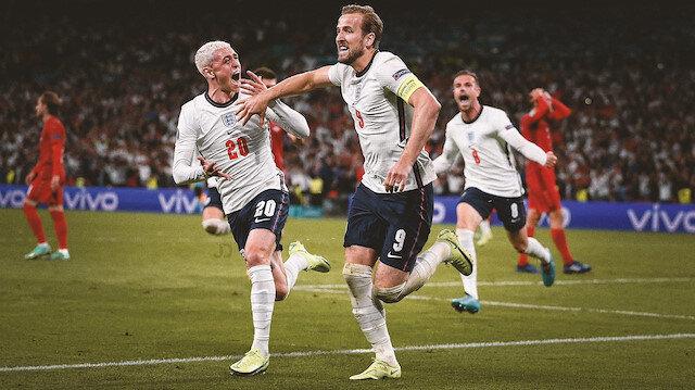 İngiltere uzatma bölümlerinde Danimarka'yı yendi ve finale yükseldi