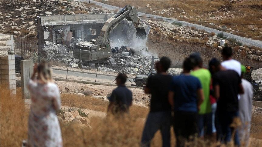 İsrail'in Doğu Kudüs'ün mahallelerinde gerçekleştirdiği işgalin sona ermesinin de Abbas'ın Biden'a sunmak üzere hazırladığı planda yer aldığı iddia ediliyor.