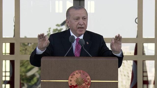 Cumhurbaşkanı Erdoğan: FETÖ'nün son ferdi hesap verene kadar mücadelemiz sürecek