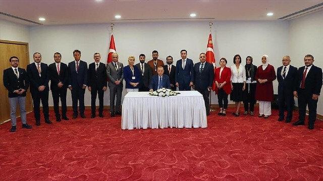 أردوغان: حان الوقت لإجراء مفاوضات بين دولتين في قبرص