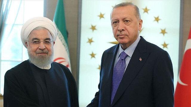 أردوغان وروحاني يبحثان العلاقات الثنائية وقضايا إقليمية