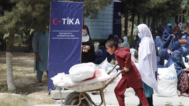 أفغانستان.. مساعدات غذائية تركية لـ 1500 أسرة متضررة من الحرب