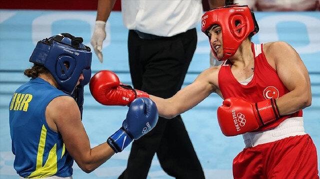أولمبياد طوكيو.. التركية سورمنيلي تتأهل لنصف نهائي الملاكمة