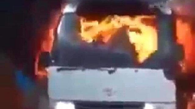 Takım otobüsüne bombalı saldırı