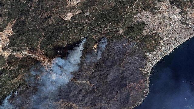قمران صناعيان تركيان يرصدان حرائق الغابات