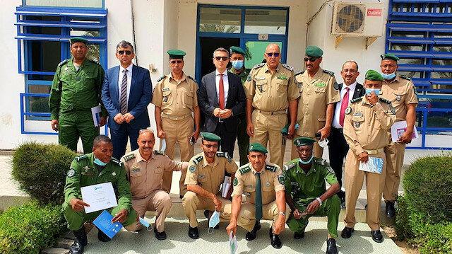 """معهد """"يونس إمره"""" يختتم دورة تعليم التركية لضباط موريتانيين"""