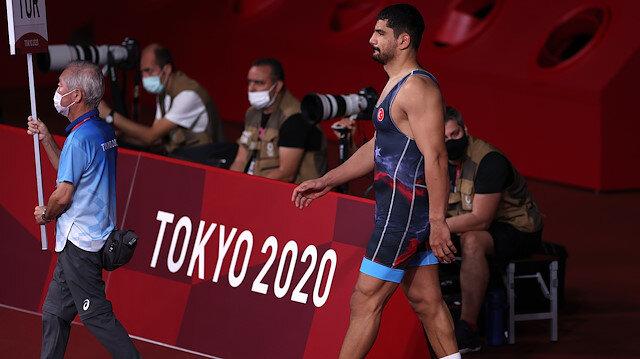 Taha Akgül Tokyo 2020'de bronz madalya kazandı