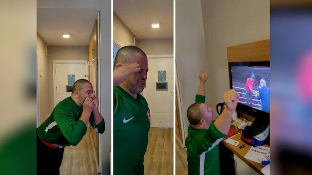 Özel sporcunun Busenaz'ın olimpiyat şampiyonluğu sonrası duygulandıran sevinci