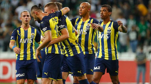 Fenerbahçe'den Giresunspor karşısında gollü prova