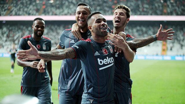 Beşiktaş, Karagümrük'ü Teixeira ile yıktı