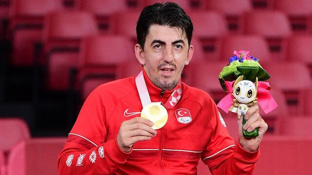 2020 Tokyo Paralimpik Oyunları'nda ilk altın madalya Abdullah Öztürk'ten
