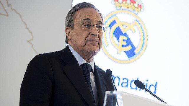 Real Madrid Başkanı Florentino Perez geleceğin yıldızını transfer etti