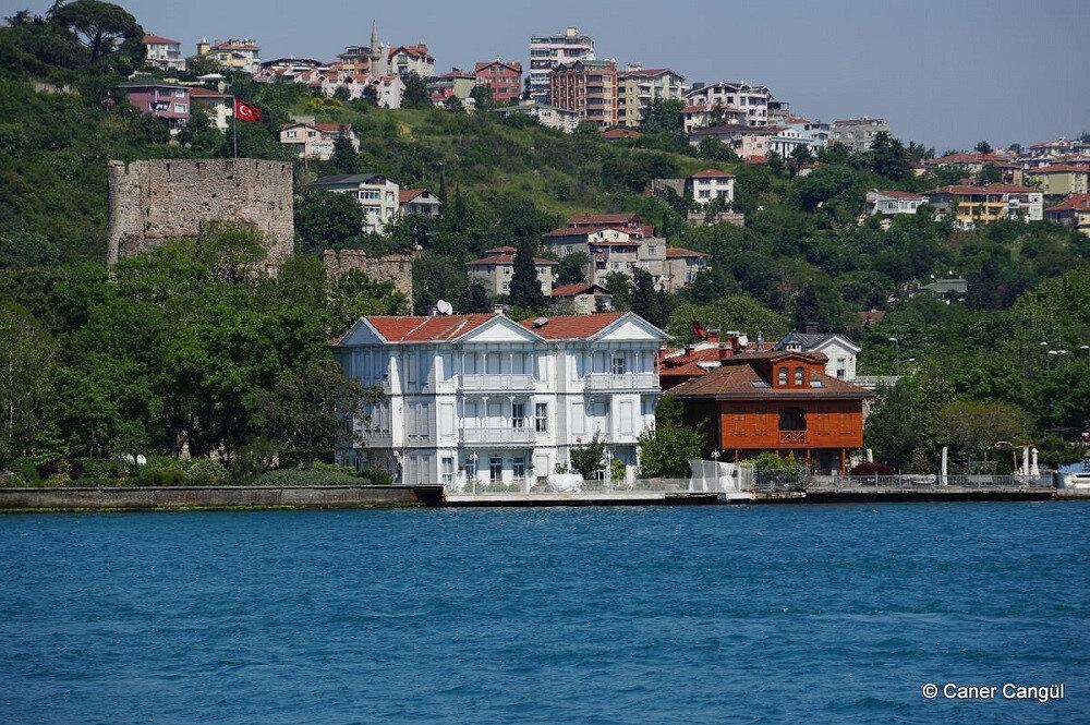 Anadolu Hisarı Yalıları.