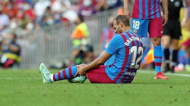 Barcelona'da bir sakatlık şoku daha
