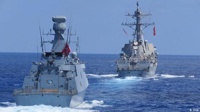 بمشاركة الولايات المتحدة وإيطاليا.. مناورات بحرية في تركيا