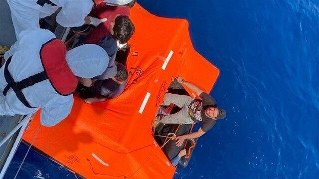 إنقاذ 11 طالب لجوء غربي تركيا