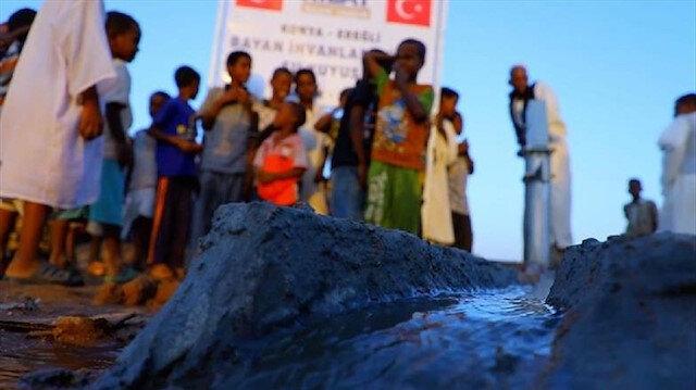 السودان.. الهلال الأحمر التركي يحفر 5 آبار مياه في سنار