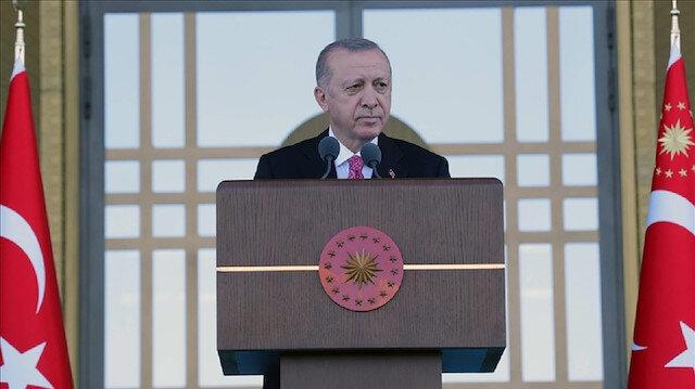 أردوغان يشيد بتضحيات الصحفيين في سبيل الوطن والشعب