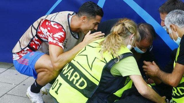 Ronaldo'nun <br>şutu bayılttı