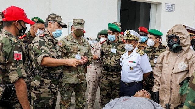 الجيشان المغربي والأمريكي يختتمان تمرينا عسكريا لمواجهة الكوارث