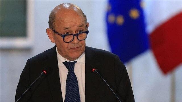 وزير الخارجية جان إيف لودريان