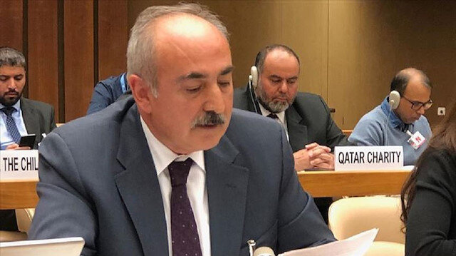 سفير تركيا لدى مكتب الأمم المتحدة بجنيف، صادق أرسلان