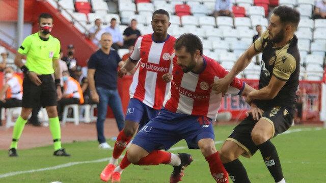 Antalyaspor 3 puanı son dakikada aldı