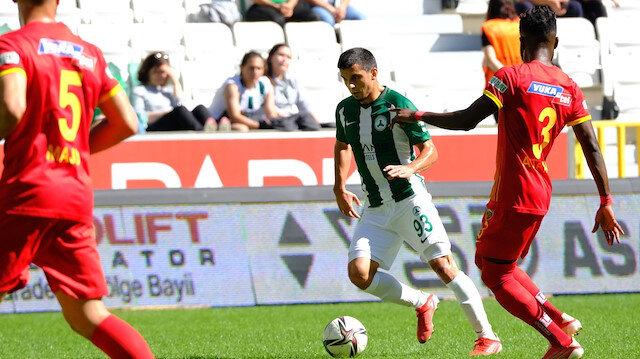 GZT Giresunspor sahasında Kayserispor ile berabere kaldı