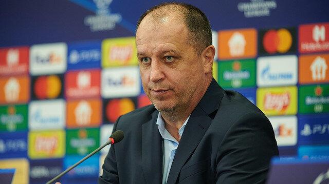 Sheriff Teknik Direktörü Yuriy Vernydub Fenerbahçe'nin eski yıldızına çattı