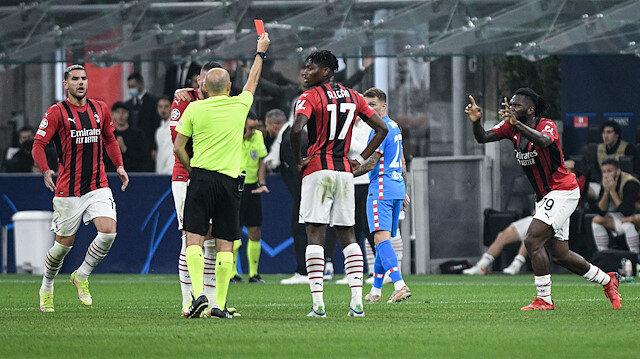 Milan-Atletico Madrid maçına Cüneyt Çakır damga vurdu