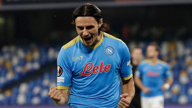 Eljif Elmas'tan Avrupa Ligi'nde tarihi gol