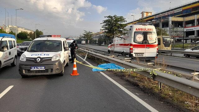 İstanbul'da yolcu otobüsü yayaya çarptı: Bir kişi öldü