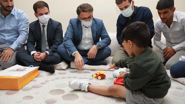 Küçük Muhammed Protez Ayağa Kavuştu