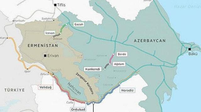 """شريان جديد لتركيا.. ممر """"ناختشيفان"""" أقصر طريق للنقل التجاري بين أوروبا وآسيا"""