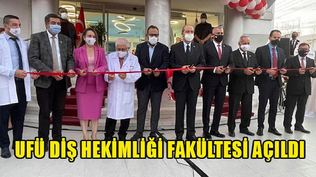 Final Üniversitesi Diş Hekimliği Fakültesi düzenlenen törenle açıldı