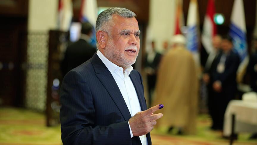 İran'a yakınlığıyla bilinen Şii Fetih Koalisyonu lideri Hadi el-Amiri.