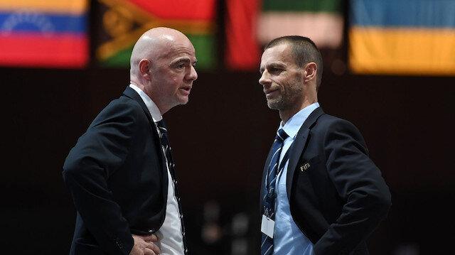 FIFA ve UEFA <br>karşı karşıya geldi