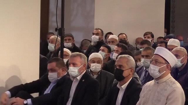 Diyanet İşleri Başkanı Erbaş Kastamonu'da Mevlid Kandili Programı'na katıldı