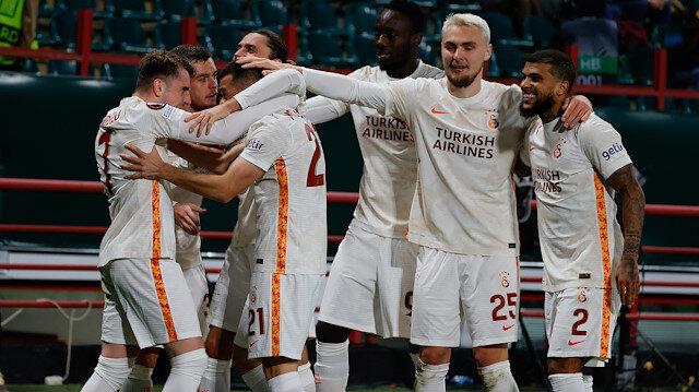 Avrupa'da lider Galatasaray