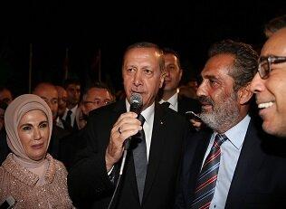 İşte Erdoğan''ın okuduğu türkü