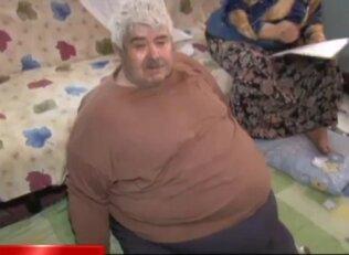 300 kiloluk adamın dramı