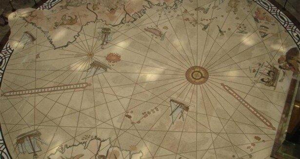 Piri Reis Haritası 19 sene sonra yine Topkapı'da