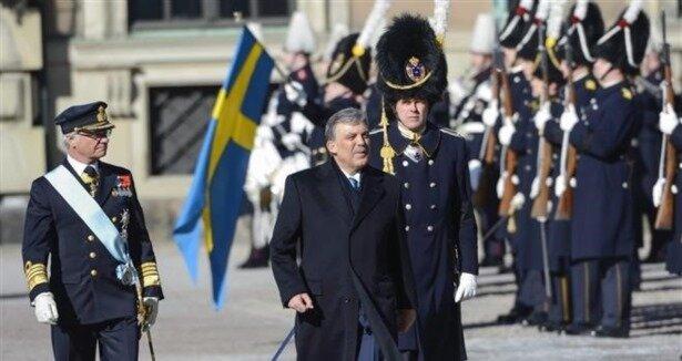 Gül'e İsveç'in en üst düzey nişan takıldı